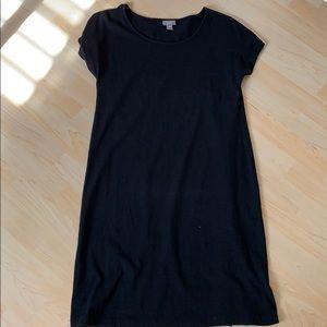 J. Jill wearever black shift dress